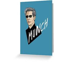 """Munch"" Greeting Card"