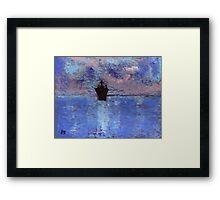 The ship Framed Print