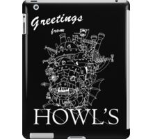 Greetings from Howl's iPad Case/Skin