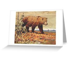A Walk on the Tundra Greeting Card