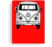 Volkswagen VW Bus Van Canvas Print
