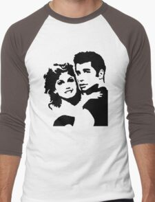John Travolta Grease Men's Baseball ¾ T-Shirt