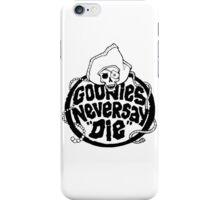 Goonies Never Say Die T-Shirt iPhone Case/Skin