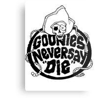 Goonies Never Say Die T-Shirt Metal Print