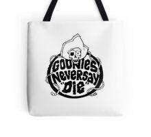 Goonies Never Say Die T-Shirt Tote Bag