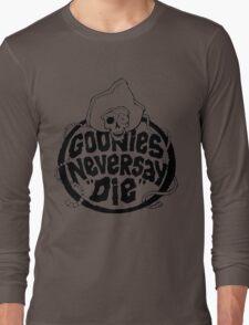 Goonies Never Say Die T-Shirt Long Sleeve T-Shirt