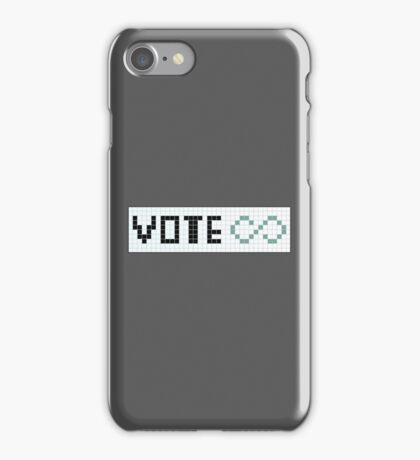 Vote Infinity! iPhone Case/Skin
