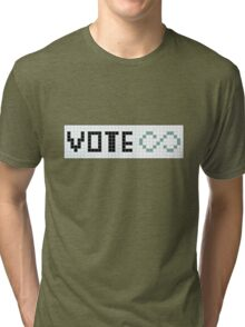 Vote Infinity! Tri-blend T-Shirt
