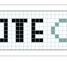 Vote Infinity! Sticker