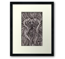 AFTERHOURS WITH THE COYOTE  Framed Print