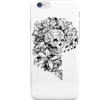 Singing Sugar Skull  iPhone Case/Skin