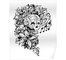 Singing Sugar Skull  Poster
