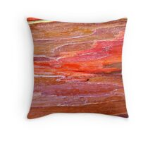 Red Tapestry Throw Pillow