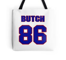 National football player Butch Wilson jersey 86 Tote Bag