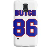 National football player Butch Wilson jersey 86 Samsung Galaxy Case/Skin