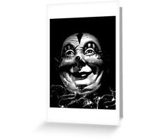 The Clown Greeting Card