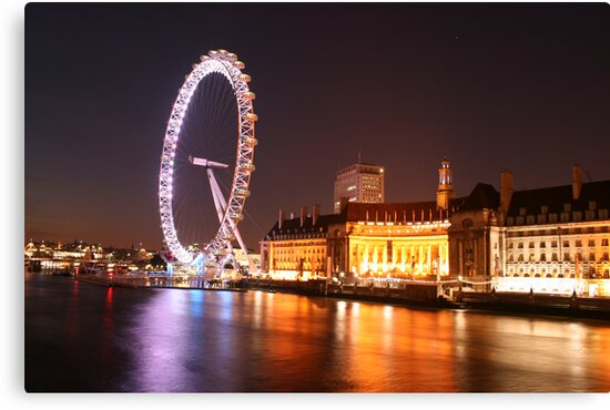 London Eye by david marshall