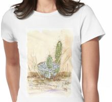 Cactus Trichocereus Womens Fitted T-Shirt