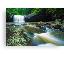 Lip Falls Canvas Print
