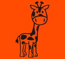 Comic giraffe Kids Clothes
