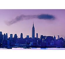 The Empire State Building at Dawn Photographic Print