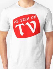 AS SEEN ON TV Funny Geek Nerd Unisex T-Shirt