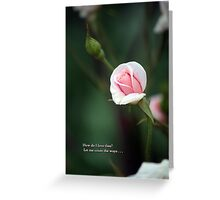 How do I love thee, let me count the ways... Greeting Card