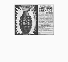 EXPLODING ARMY HAND GRENADE Unisex T-Shirt