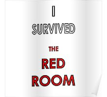 I Survived the Red Room Poster