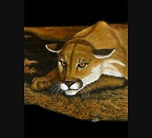Cougar in the Dark Unisex T-Shirt