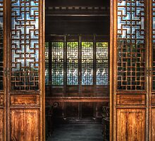 The temple doors by Mike  Savad