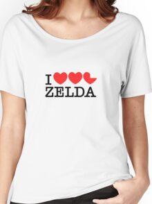 I Love Zelda Women's Relaxed Fit T-Shirt