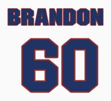 National baseball player Brandon Laird jersey 60 by imsport