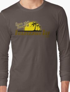 COME VISIT BEAUTIFUL GUANTANAMO BAY CUBA Funny Geek Nerd Long Sleeve T-Shirt