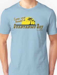 COME VISIT BEAUTIFUL GUANTANAMO BAY CUBA Funny Geek Nerd Unisex T-Shirt