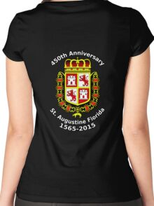 St. Augustine Florida, 450th Anniversary Celebration Women's Fitted Scoop T-Shirt