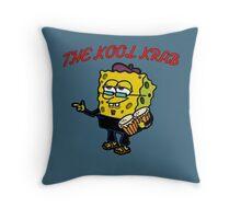 The Kool Krab Throw Pillow