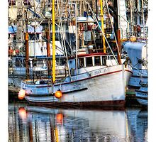 Yaquina Bay Fleet by Deri Dority