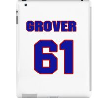 National baseball player Grover Hartley jersey 61 iPad Case/Skin