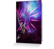 CYBORG - VALKYRIE Greeting Card