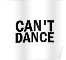 Glee: Can't Dance Poster