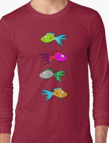 Neon Fish Long Sleeve T-Shirt