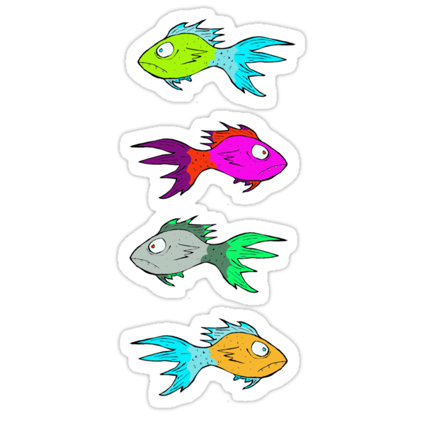 Neon Fish by MuscularTeeth