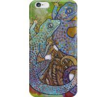 Blue Geckos iPhone Case/Skin