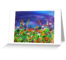 Heaven's Garden Greeting Card