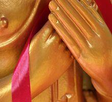 Vivid Buddha Hands by Dave Lloyd