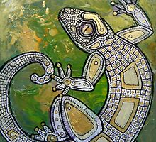 Dancing Gecko by Lynnette Shelley