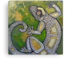 Dancing Gecko Canvas Print