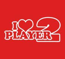 I Heart Player 2 (e) Kids Tee