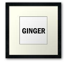 Glee: Ginger Framed Print